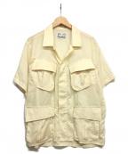 NEXUSVII(ネクサスセブン)の古着「JUNGLE FATIGUE S/S SHIRT」|アイボリー