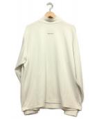 stein(シュタイン)の古着「ハイネックカットソー」|ホワイト
