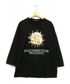 JohnUNDERCOVER(ジョンアンダーカバー)の古着「PSYLENCE Tee」 ブラック