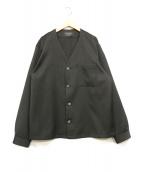 UNITED TOKYO(ユナイテッドトウキョウ)の古着「ノーカラージャケット」 ブラック