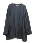 nestrobe confect(ネストローブ コンフェクト)の古着「ニットジャケット」 ネイビー