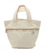 LeSportsac(レスポートサック)の古着「ハンドバッグ」|ホワイト
