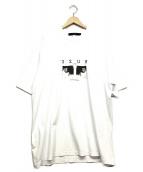 MUZE(ミューズ)の古着「オーバーサイズフォトTシャツ」|ホワイト