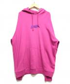 GOLF WANG()の古着「プルオーバーパーカー」|ピンク