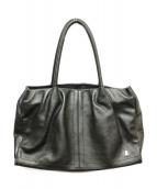 LANVIN COLLECTION(ランバンラコレクション)の古着「レザートートバッグ」|ブラック