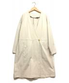 EN ROUTE(アンルート)の古着「カラーレスコート」|アイボリー