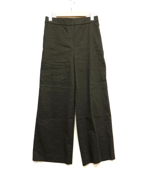 theory(セオリー)theory (セオリー) エコクランチクロップパンツ ブラック サイズ:2の古着・服飾アイテム