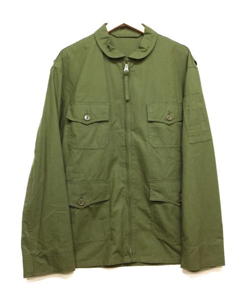 ANATOMICA(アナトミカ)ANATOMICA (アナトミカ) USN SUMMER FLIGHT JACKET グリーン サイズ:Lの古着・服飾アイテム