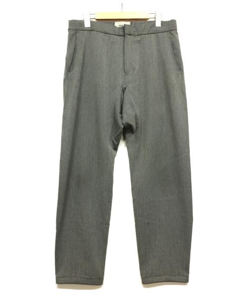 YAECA(ヤエカ)YAECA (ヤエカ) スラックス グレー サイズ:Sの古着・服飾アイテム
