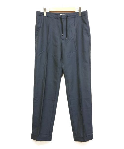 AURALEE(オーラリー)AURALEE (オーラリー) センタープレスパンツ ネイビー サイズ:3の古着・服飾アイテム