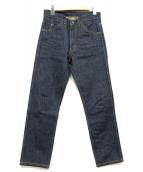 LEVIS VINTAGE CLOTHING(リーバイス ヴィンテージ クロージング)の古着「606復刻スリムデニムパンツ」|インディゴ