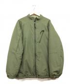 BURLAP OUTFITTER(バーラップアウトフィッター)の古着「中綿ジャケット」|オリーブ