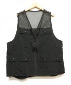 BURLAP OUTFITTER(バーラップアウトフィッター)の古着「ハンティングメッシュベスト」|ブラック