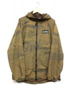 WILD THINGS(ワイルドシングス)の古着「フーデッドジャケット」|ブラウン