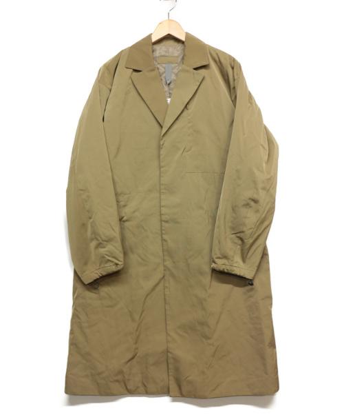 417 by EDIFICE(フォーワンセブンバイエディフィス)417 by EDIFICE (フォーワンセブンバイエディフィス) 中綿スナップBコート カーキ サイズ:Mの古着・服飾アイテム