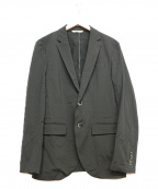 INTERMEZZO(インターメッツォ)の古着「ポリテーラードジャケット」|ブラック