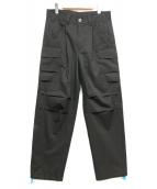 MUZE(ミューズ)の古着「カーゴパンツ」|ブラック