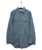 MADISON BLUE(マディソンブルー)の古着「ハンプトンシャツ」 ブルー