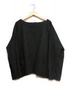 nest robe(ネストローブ)の古着「ワイドニット」|ブラック