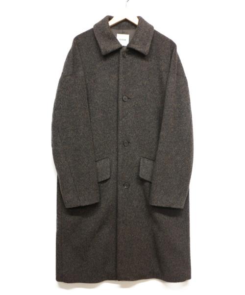 Ouur(アウアー)Ouur (アウアー) ウールコート ネイビー サイズ:1の古着・服飾アイテム