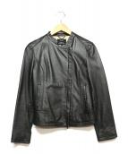23区(ニジュウサンク)の古着「ラムレザージャケット」|ブラック