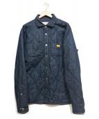 NATAL DESIGN(ネイタルデザイン)の古着「デニムキルティングジャケット」 インディゴ