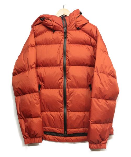 NANGA(ナンガ)NANGA (ナンガ) オーロラダウンジャケット オレンジ サイズ:40の古着・服飾アイテム