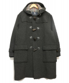 BURBERRY LONDON(バーバリーロンドン)の古着「ロングダッフルコート」|グレー