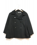 JIL SANDER(ジルサンダー)の古着「ダブルジャケット」|ブラック