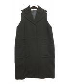 MARNI(マルニ)の古着「ノースリーブコート」|ブラック