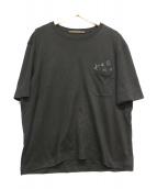 LOUIS VUITTON(ルイヴィトン)の古着「ポケットTシャツ」|ブラック
