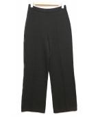 ST.JOHN(セントジョン)の古着「ニットワイドパンツ」|ブラック