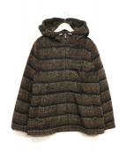 ETRO(エトロ)の古着「フーデッドジャケット」|ブラウン