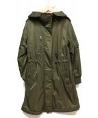 DIESEL(ディーゼル)の古着「ミリタリーオーバーコート」|グリーン