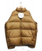 NANGA(ナンガ)の古着「ダウンジャケット」|ベージュ