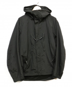 BURLAP OUTFITTER(バーラップアウトフィッター)の古着「メッシュ切替ジャケット」|ブラック