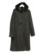 Demi-Luxe BEAMS(デミルクスビームス)の古着「エコムートンコート」 ブラック