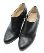 PELLICO(ペリーコ)の古着「サイドジップショートブーティ」|ブラック