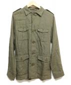 Traditional Weatherwear(トラディショナルウェザーウェア)の古着「サファリジャケット」|カーキ