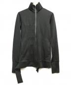 Y-3(ワイスリー)の古着「BAND COLLAR SWEATSHIRT」 ブラック