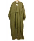 MARIHA(マリハ)の古着「春の光のドレス」|グリーン