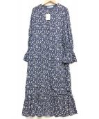 MARIHA(マリハ)の古着「マドモワゼルのコート」|ブルー