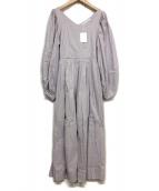 MARIHA(マリハ)の古着「夕映えのドレス」|パープル