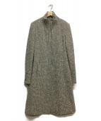MAX&Co.(マックスアンドコー)の古着「ツイードコート」|ホワイト×ブラック