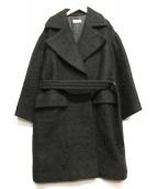 DRIES VAN NOTEN(ドリスバンノッテン)の古着「ダブルコート」|ブラック