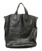 GIVENCHY(ジバンシィ)の古着「レザートートバッグ」|ブラック