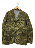 ()の古着「カモフラジャケット」|オリーブ