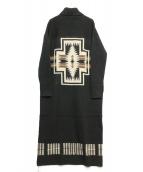 PENDLETON(ペンドルトン)の古着「別注ニットワンピース」 ブラック