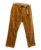 GRAMICCI(グラミチ)の古着「コーデュロイナローパンツ」|ブラウン
