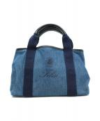 Felisi(フェリージ)の古着「デニムトートバッグ」|インディゴ